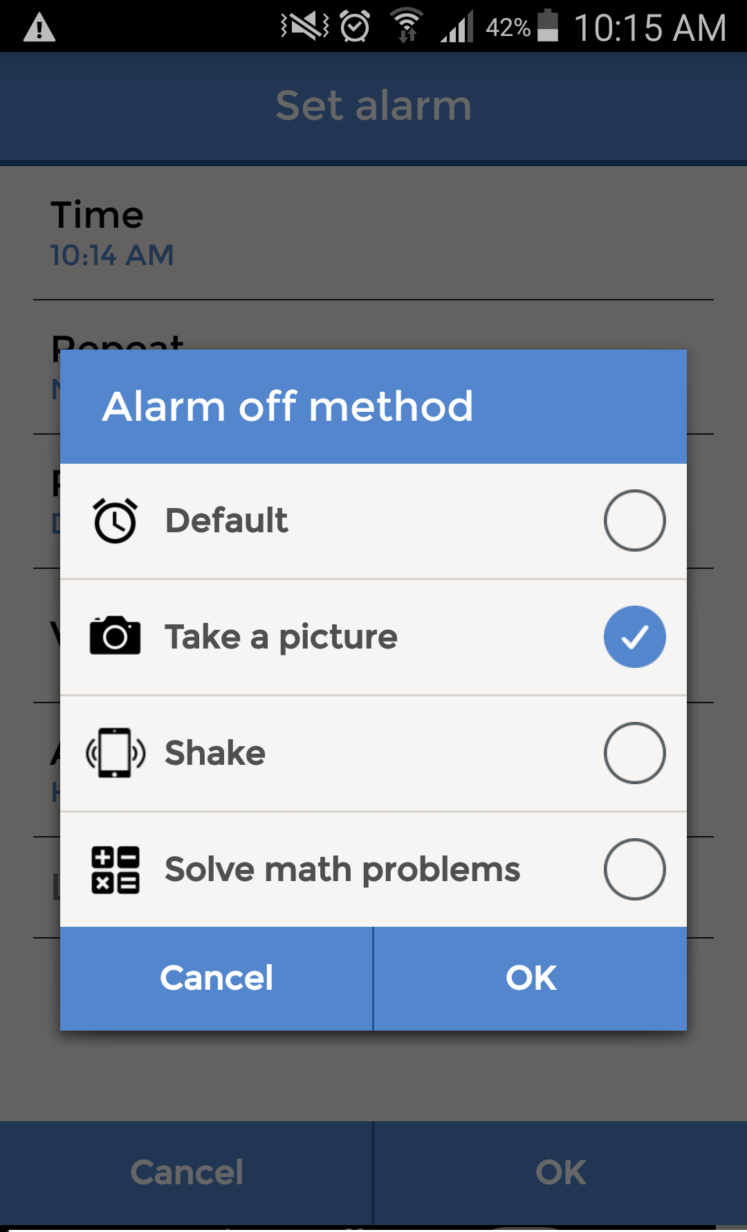 Alarmy (Sleep If U Can) app | APPpropos – The McGill Library Mobile