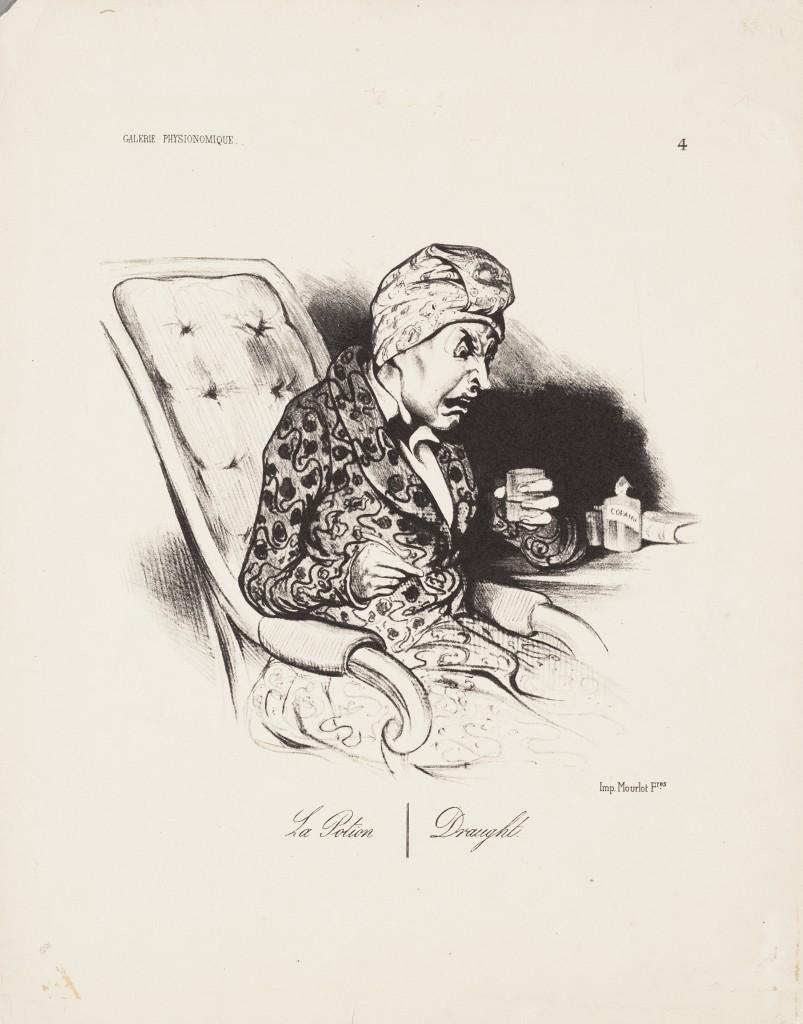 """""""La Potion - Draught"""" by Honoré Daumier."""