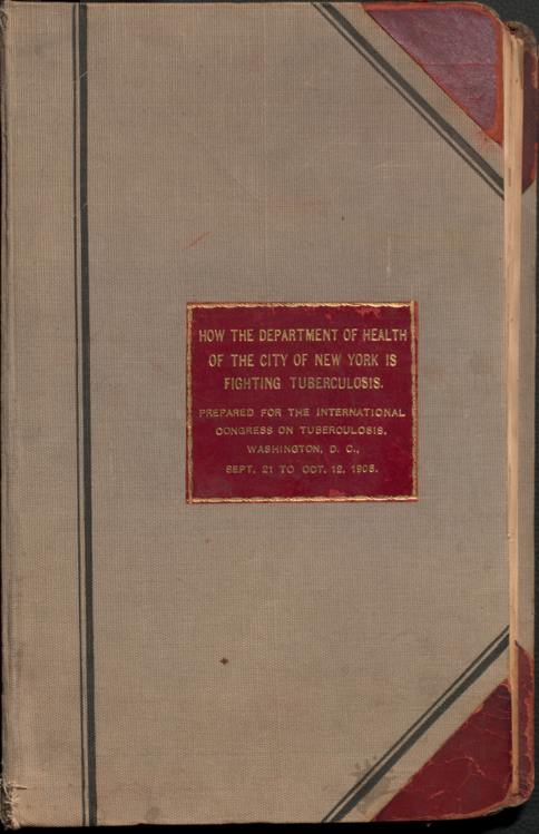 Cover of 'How the Department of Health of the city of New York is fighting tuberculosis'
