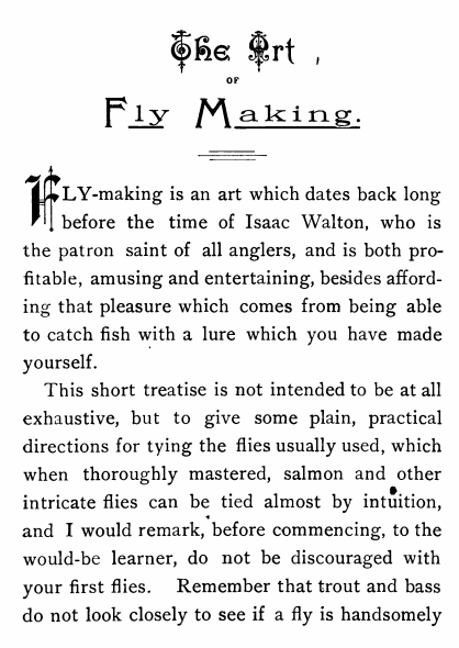 "Page 5 of ""Artificial flies and how to make them"""