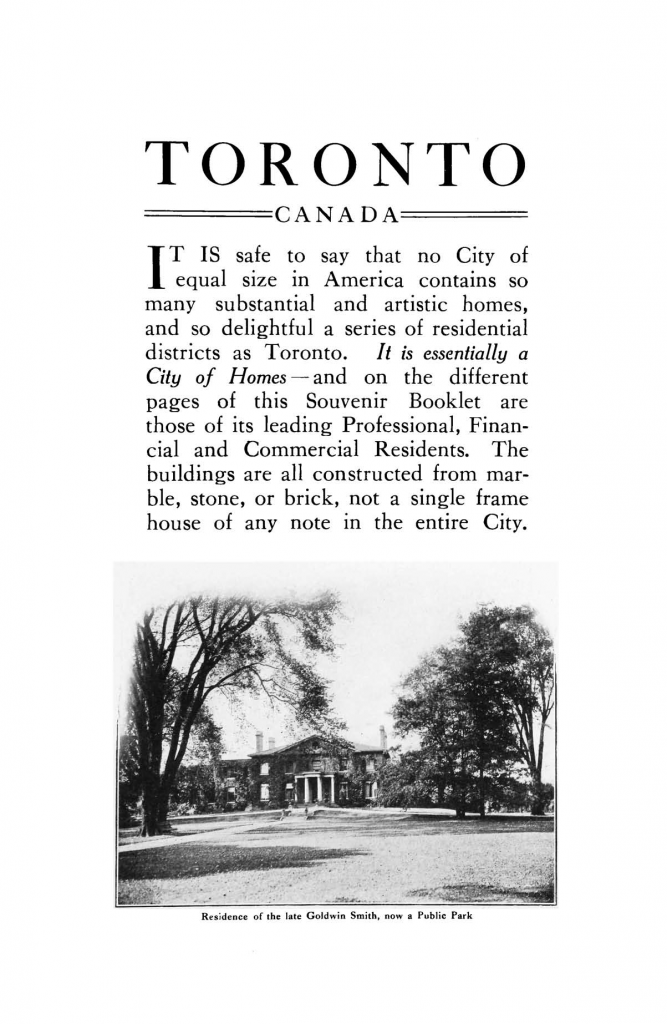 Toronto: a city of beautiful homes—page 3