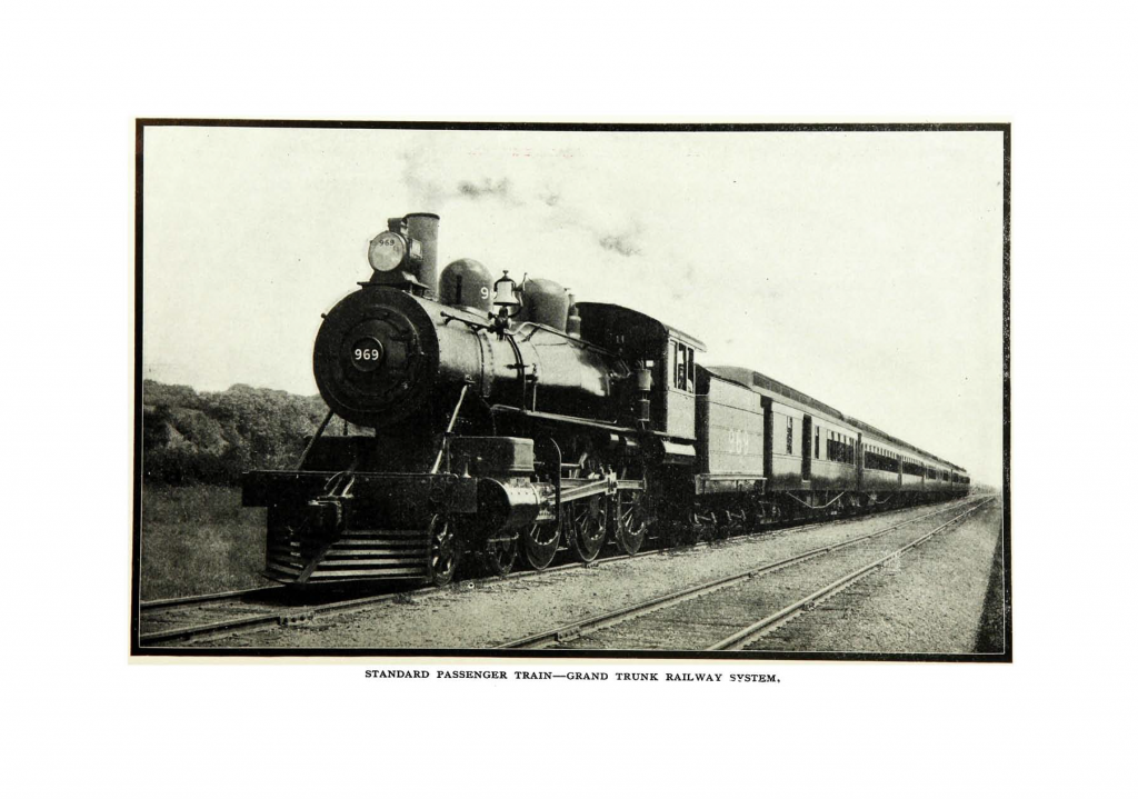 Trains 3 and 4 : flight of the 'International Limited,' the railway Greyhound of Canada—page 6