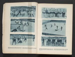 Canadian Hockey Team, St. Moritz, 1928.