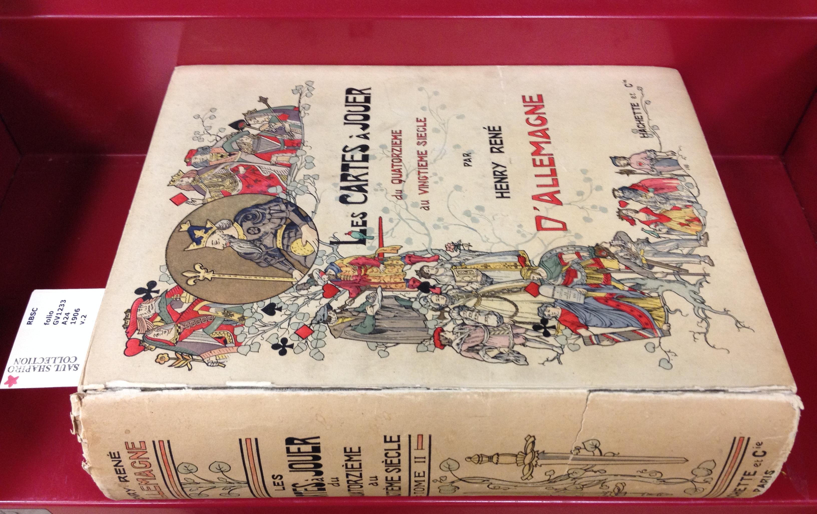 Cover. Allemagne, H. R. (1906). Les cartes à jouer du XIV au XX siècle.