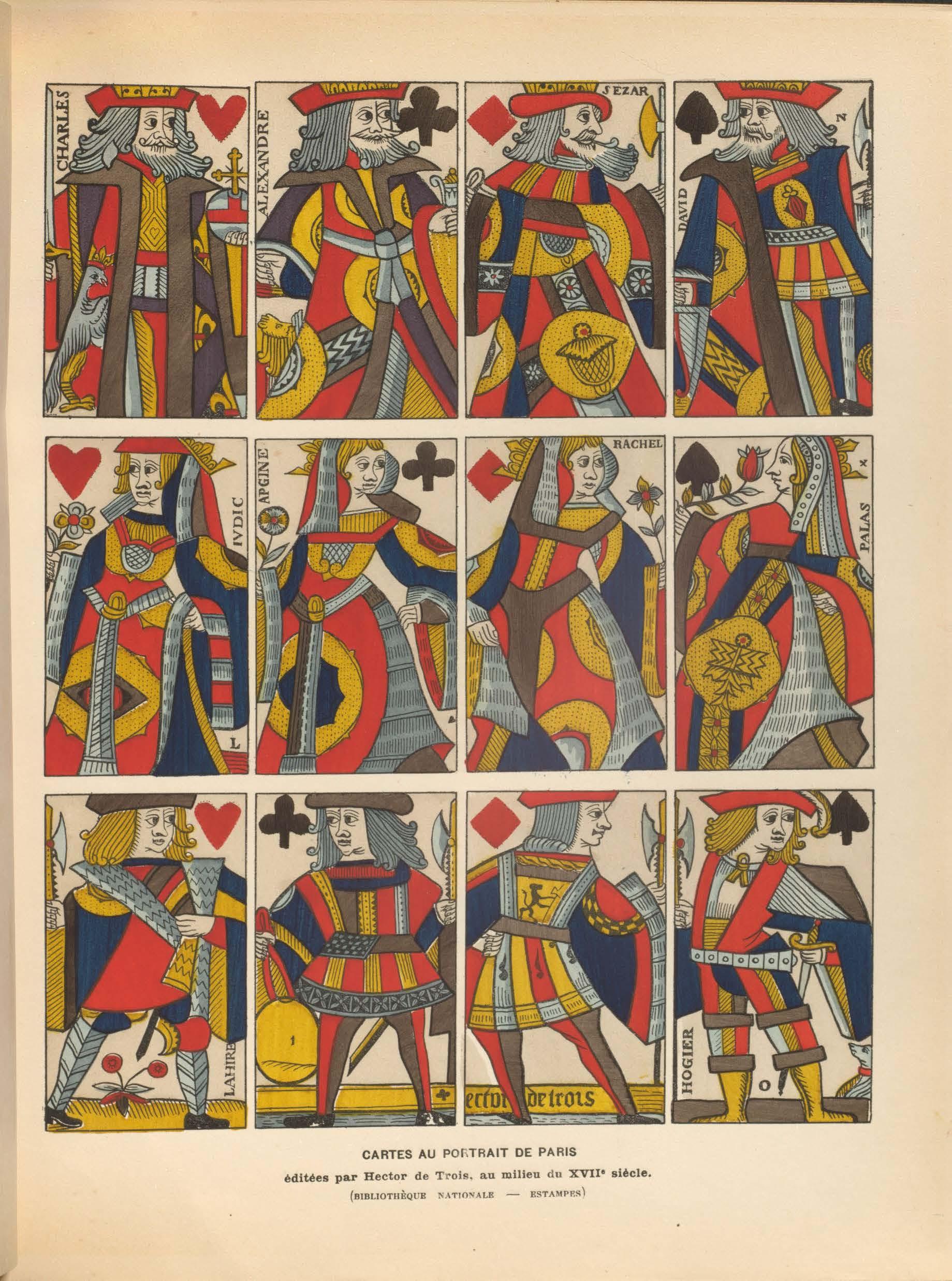 Allemagne, H. R. (1906). Les cartes à jouer du XIV au XX siècle.  Volume 1, page 195.
