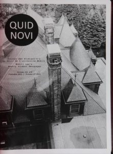 Quid Novi Vol. 33 No. 004: October 4, 2011