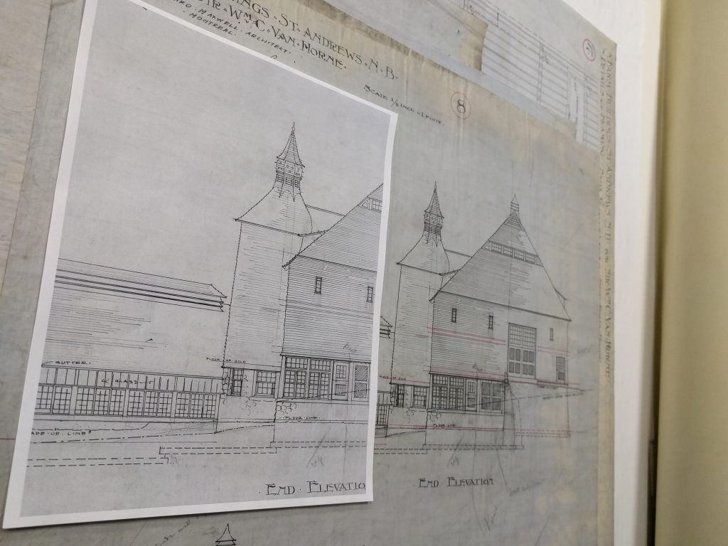 Example of the 1:1 scanning ratio with some of our architectural drawings