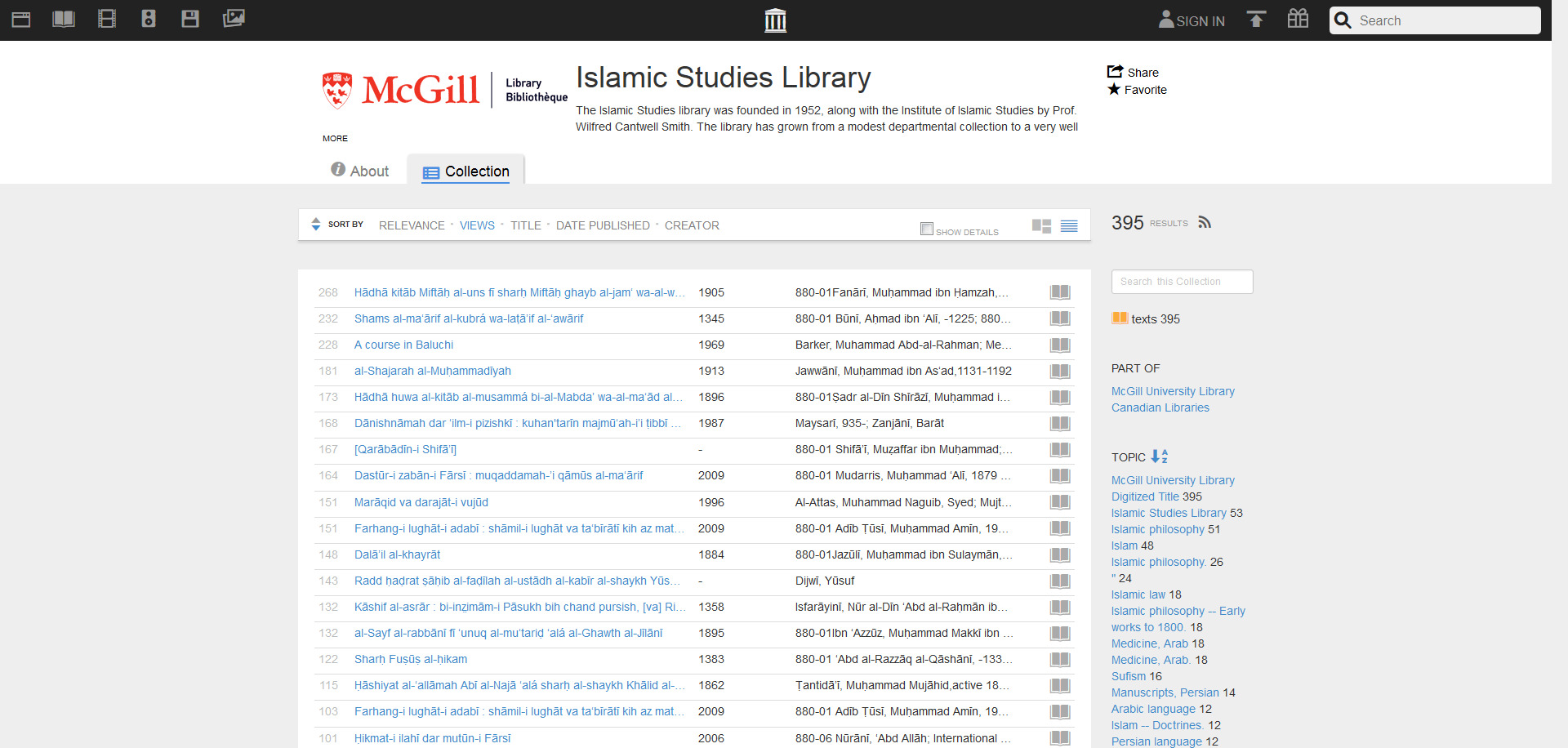 Islamic Studies Library - Free Texts - Download & Streaming - Internet Archive