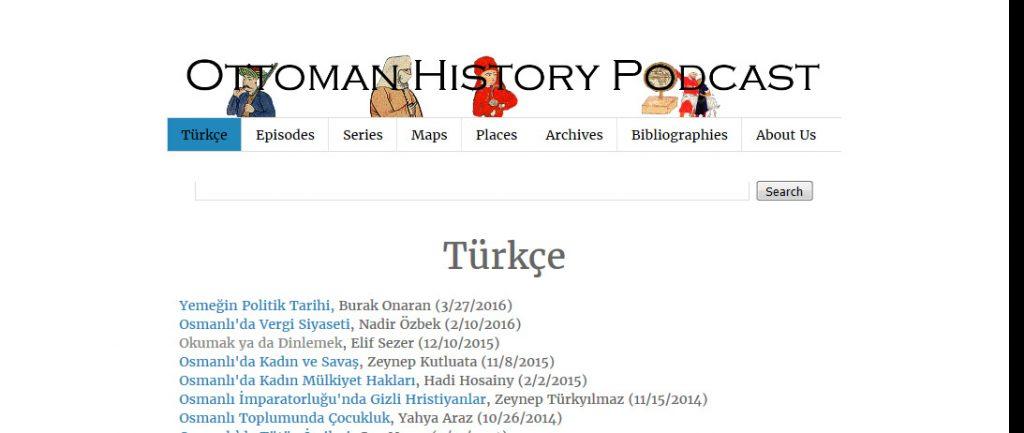 Ottoman History Podcast- Türkçe