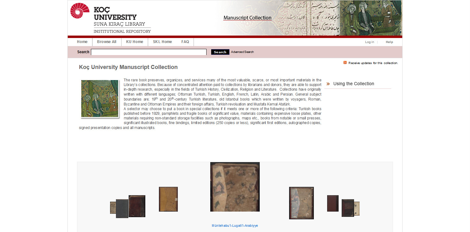 koc-university-manuscript-collection