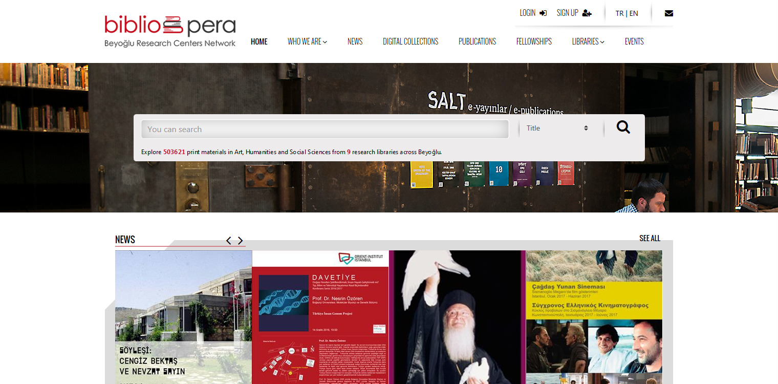 bibliopera-beyoglu-research-centers-network