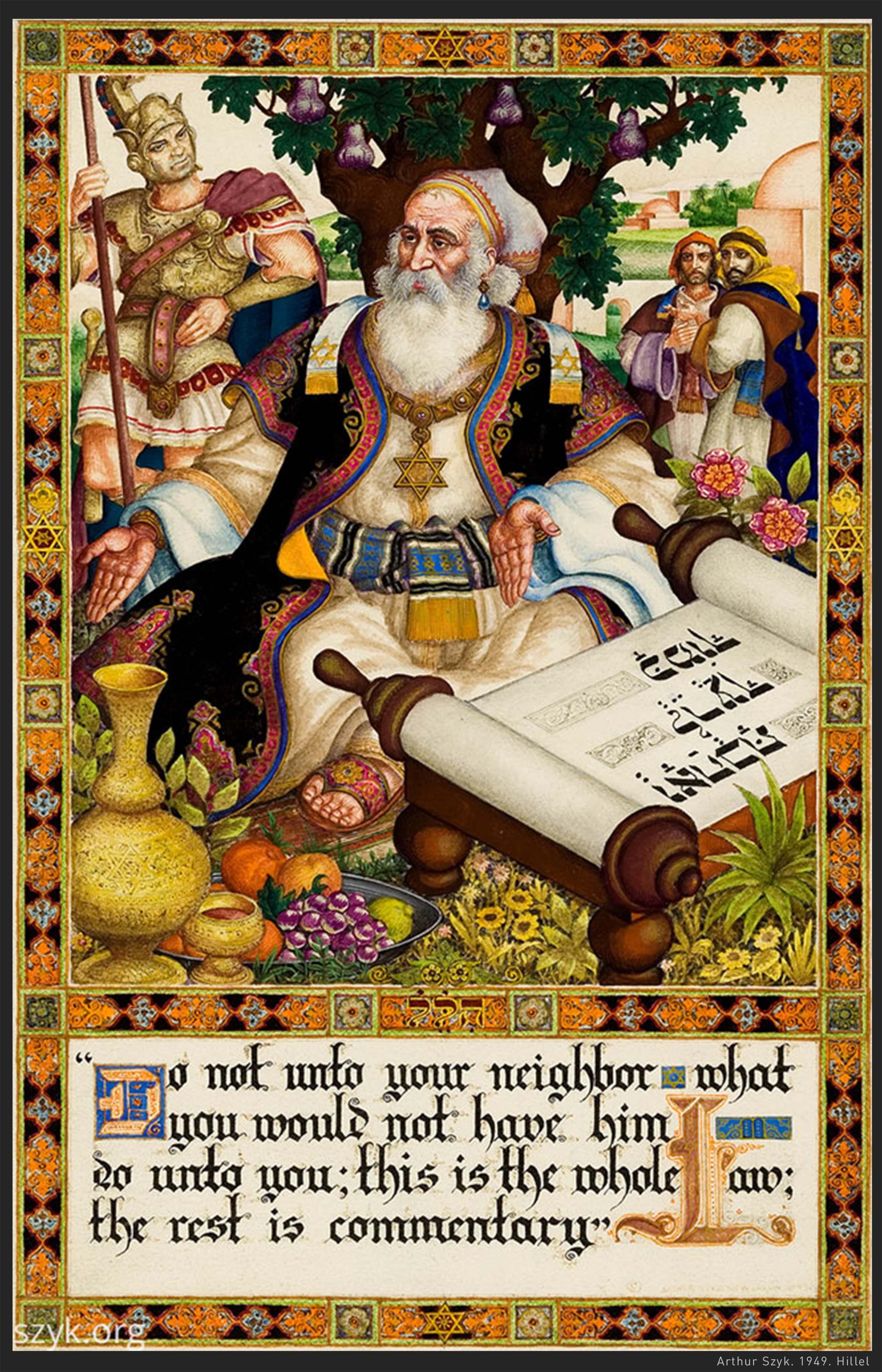 Arthur Szyk Poster
