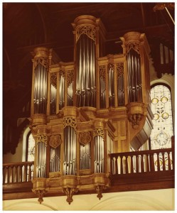 Photograph, Redpath Hall organ, McGill University, Montreal, PQ.