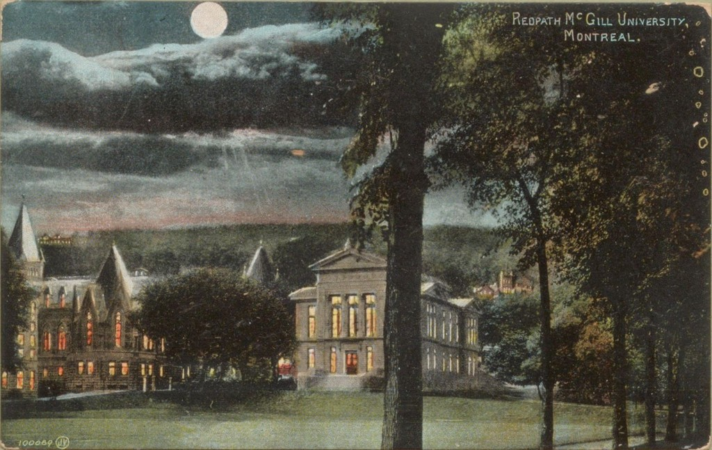 Redpath Museum [pre-1920], Valentine and Sons' Publishing Co., Ltd. Montreal and Toronto. Printed in Great Britain.