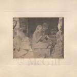 "(5)""Sculptured devotees before the ruined altar of Buddha, Nakhon Wat"", John Thomson, 1866"