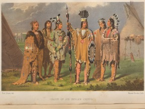 PAUL KANE, 1810-1871. Wanderings of an artist among the Indians of North America. Londres : Longman, Brown, Green, Longmans et Roberts, 1859. Livres rares et collections spécialisées - Lande Canadiana 01258