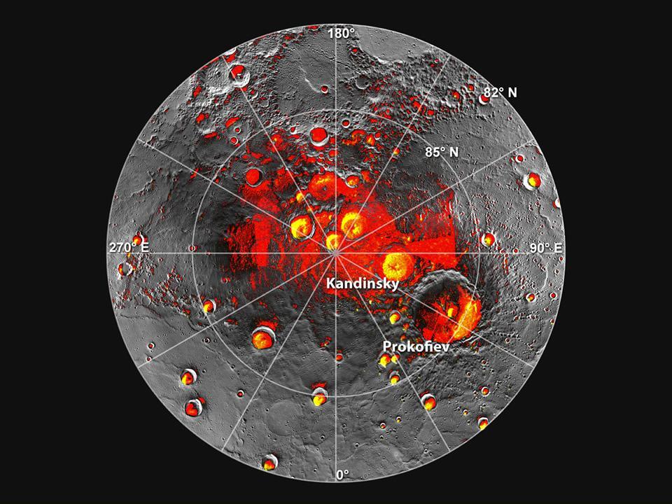 NASA news: Mercury water ice   The Turret