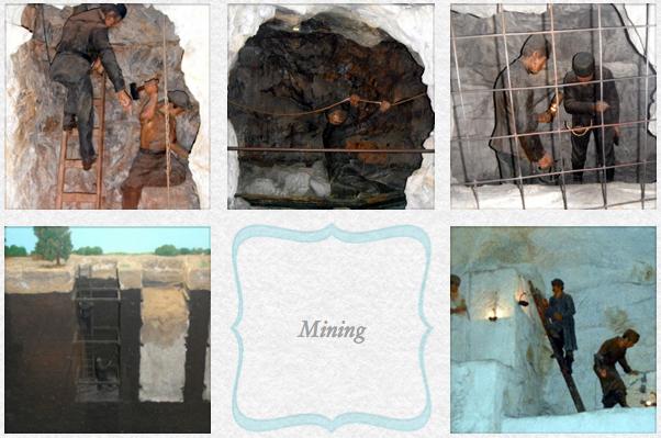 Mining exhibit