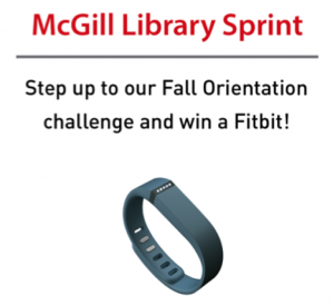 McGill Library Sprint